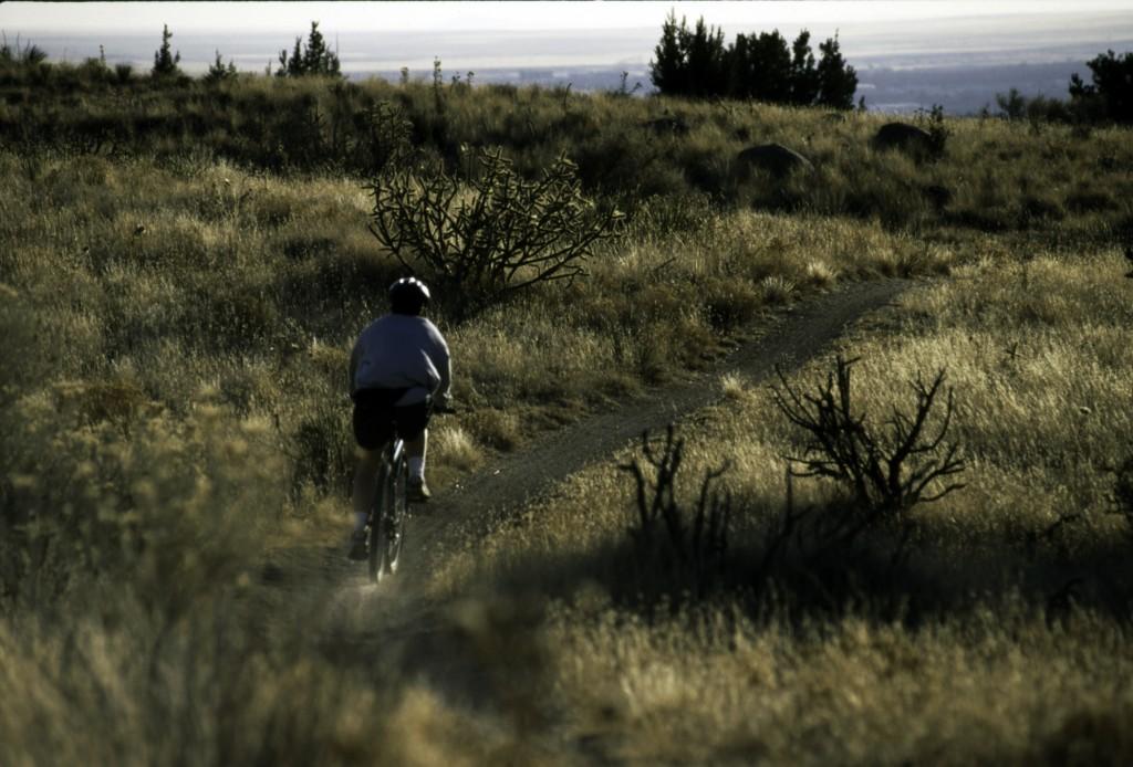 Mountain Biking   Credit: www.kipmalone.com   Courtesy Albuquerque Convention & Visitors