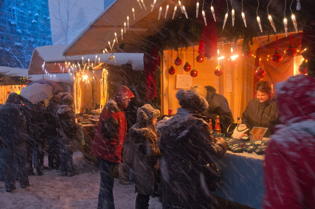 Unusual European Christmas Markets | Christmas market in the Ravenna Gorge