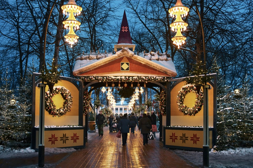 Unusual European Christmas Markets | Tivoli Christmas Market