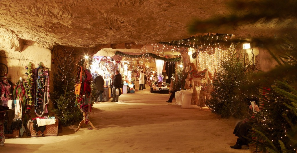 Unusual European Christmas Markets | Christmas Market in the Cave