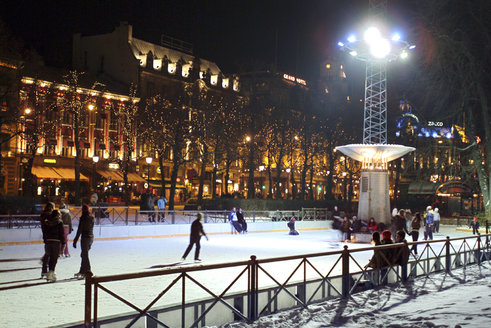 Top 5 Outdoor Ice-Skating Rinks in Europe This Christmas | Visit OSLO Nancy Bundt