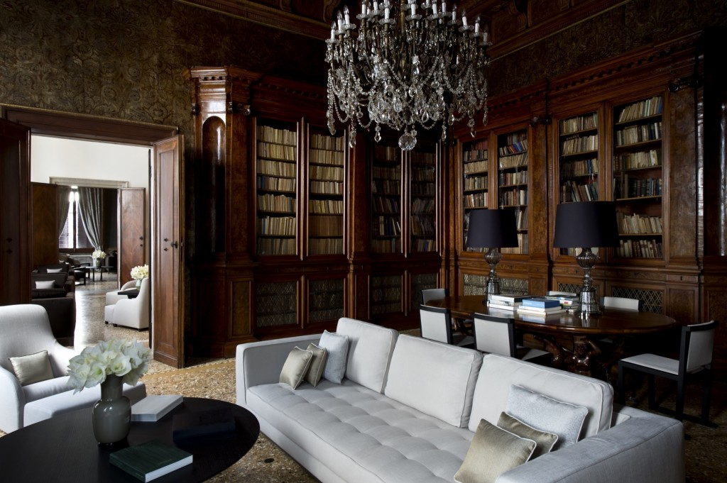 How To Dine In A Venetian Palazzo | Aman Canal Grande Venice - Library