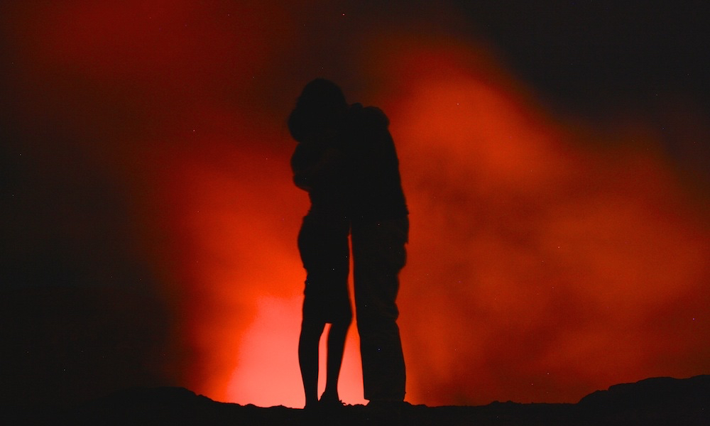 Couple Inspiration | Peter & Kia, Mount Yasur volcano in Vanuatu