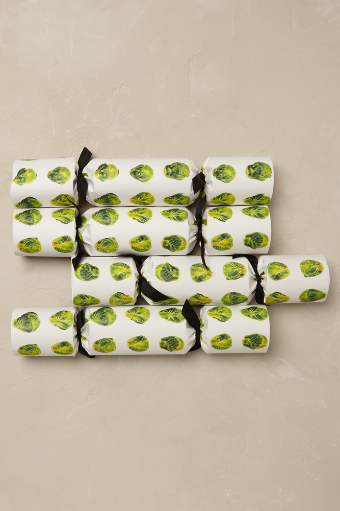 Sprouted Christmas Crackers- Anthropologie