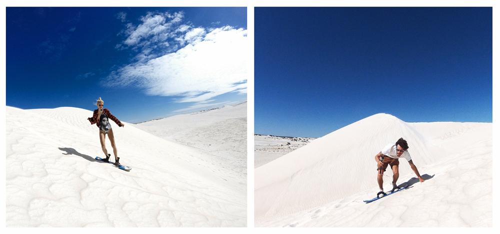 Lens Between Us | Western Australia, Lancelin Sand Dunes