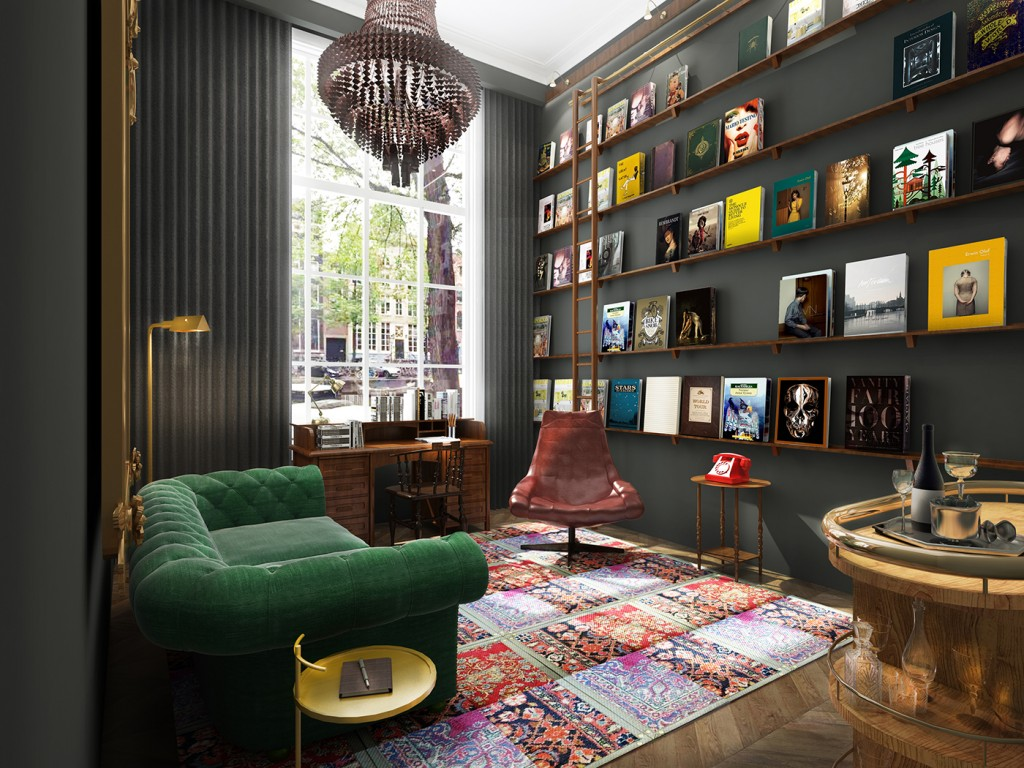 Pulitzer Amsterdam - Book Collector's Study
