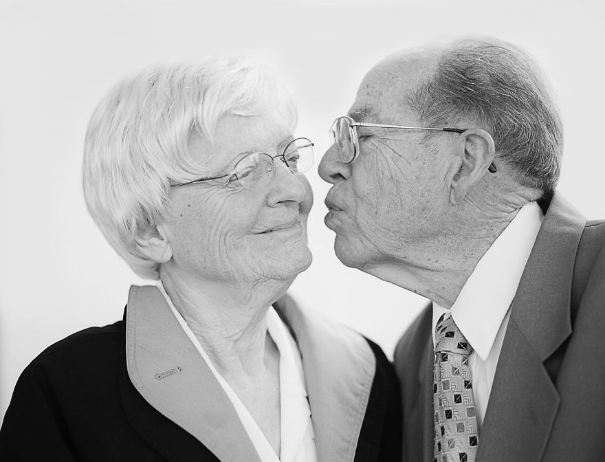 Chancey & Bertha- 71 years of marriage