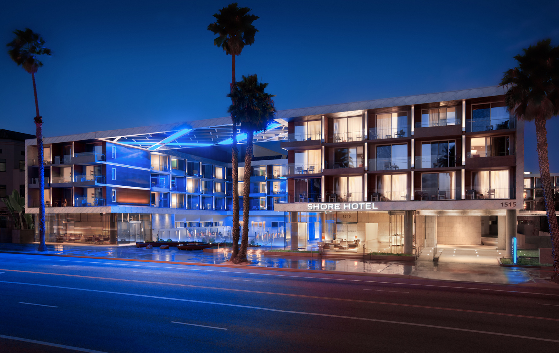 Luxury Hotels Santa Monica Beach California