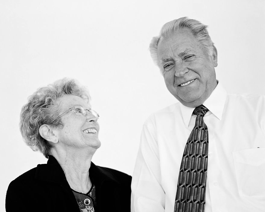 Mervin & Carolyn Beckstrand- 56 years of marriage
