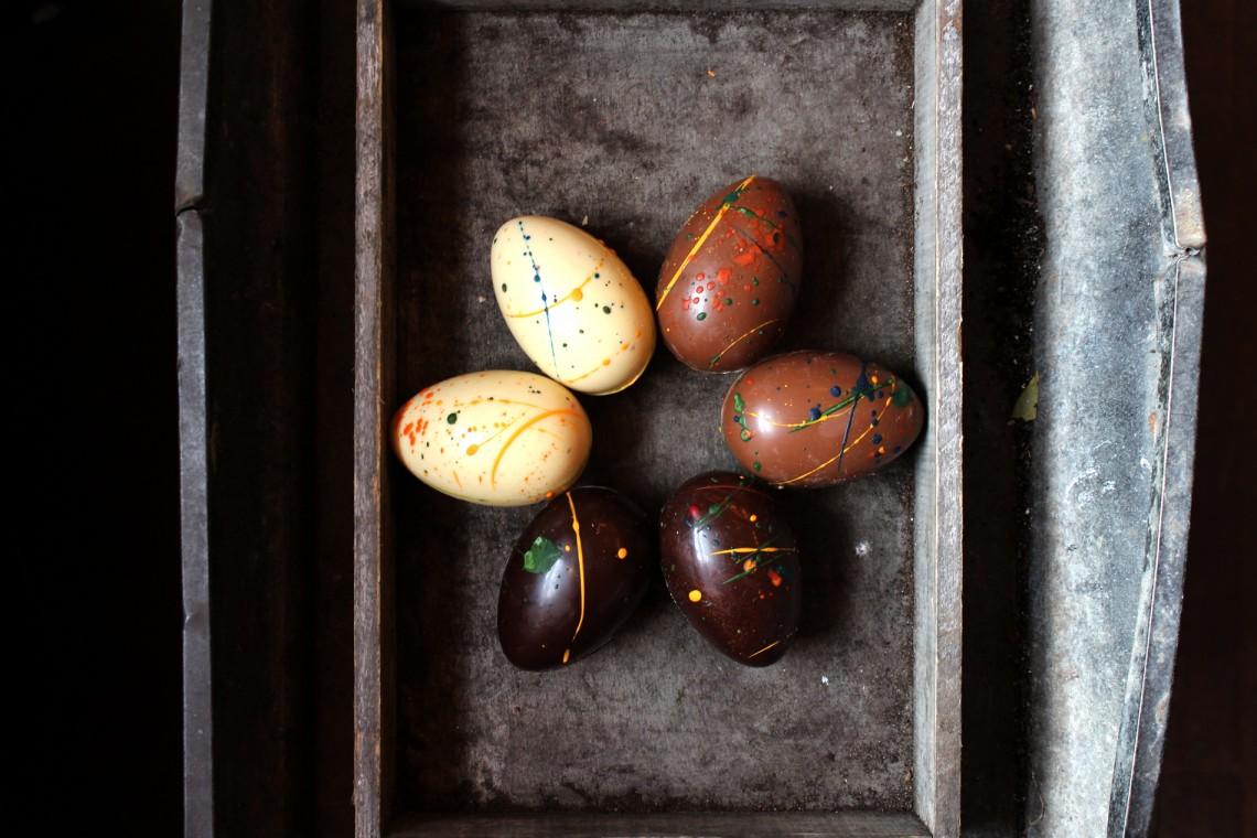 Chocolate Hen's Eggs- Coco Chocolatier | Top Luxury Easter Eggs
