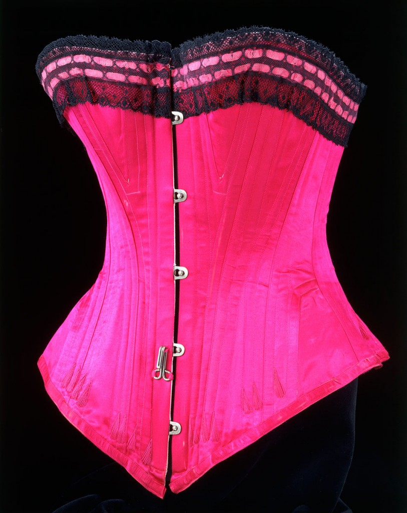 Corset 1890-1895 Credit: Victoria and Albert Museum London