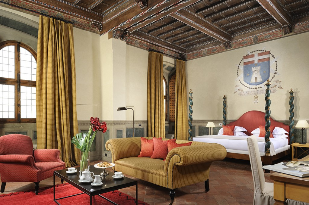 Castello del Nero | Bedroom Suite