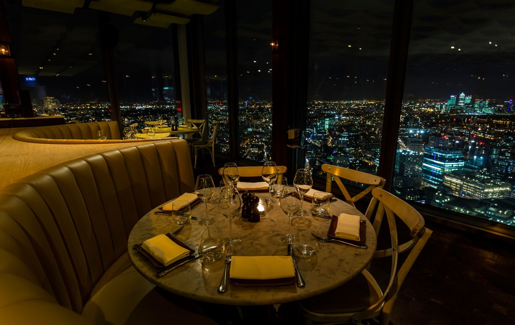 London's Top 5 restaurants with a view