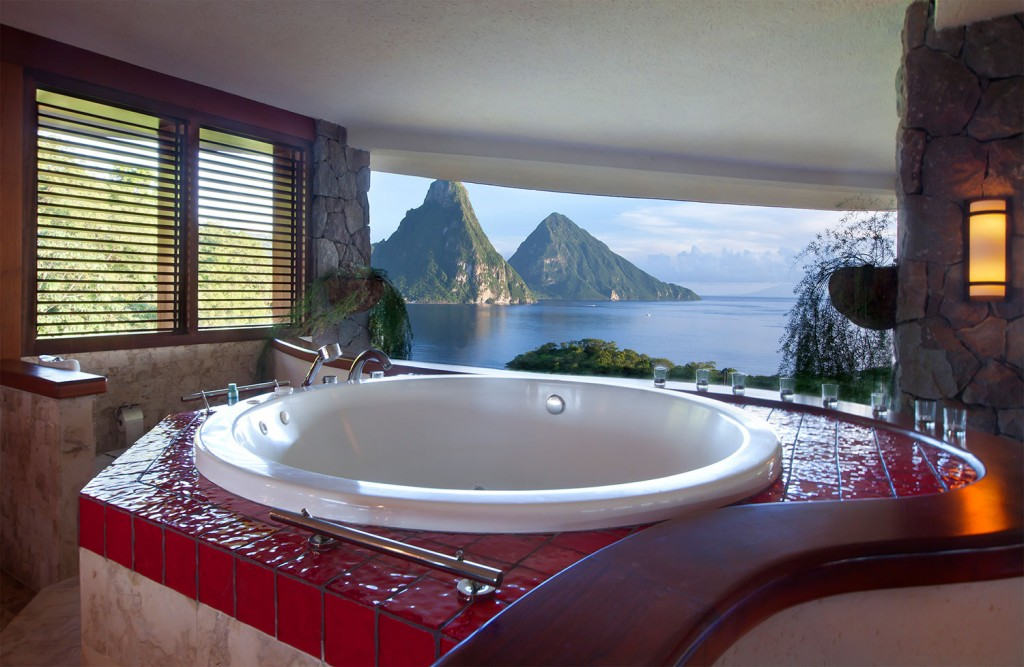 Courtesy of Jade Mountain - St Lucia
