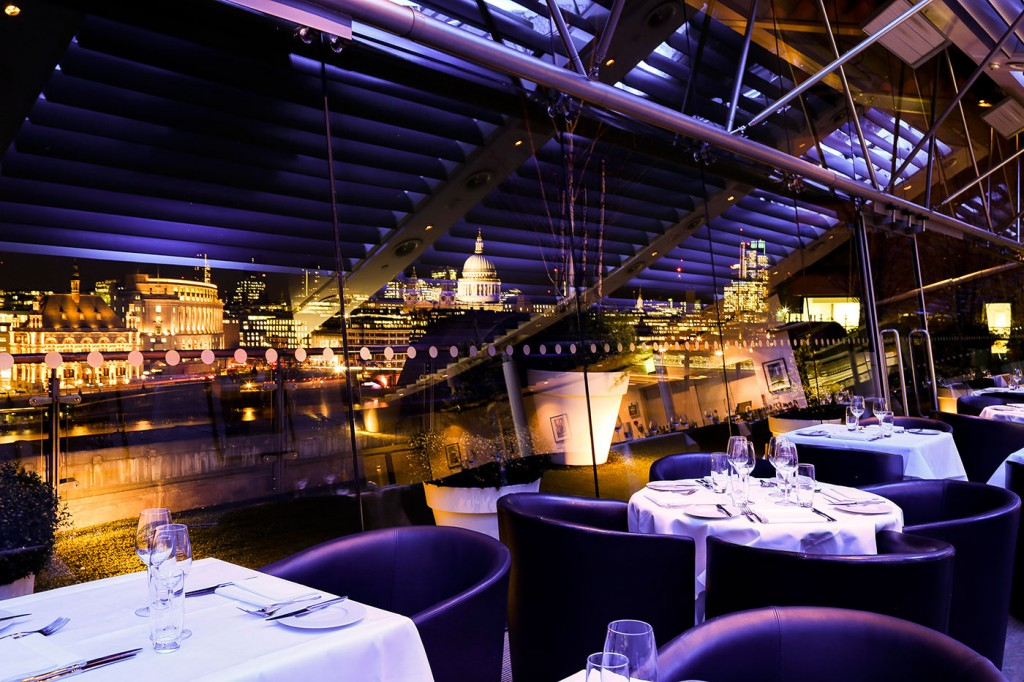 London S Top 5 Restaurants With A View Hero And Leander