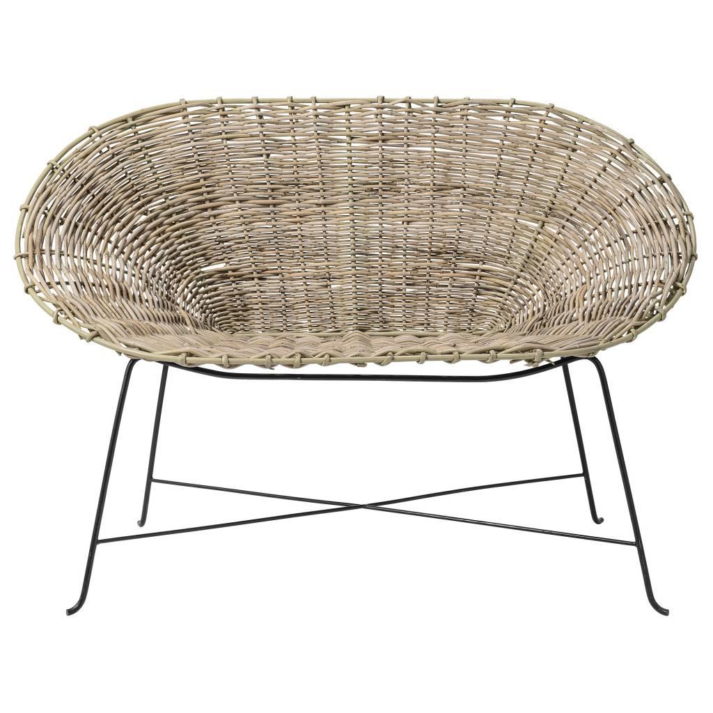 Pembroke rattan sofa - Abigail Ahern | Summer Dining Inspiration