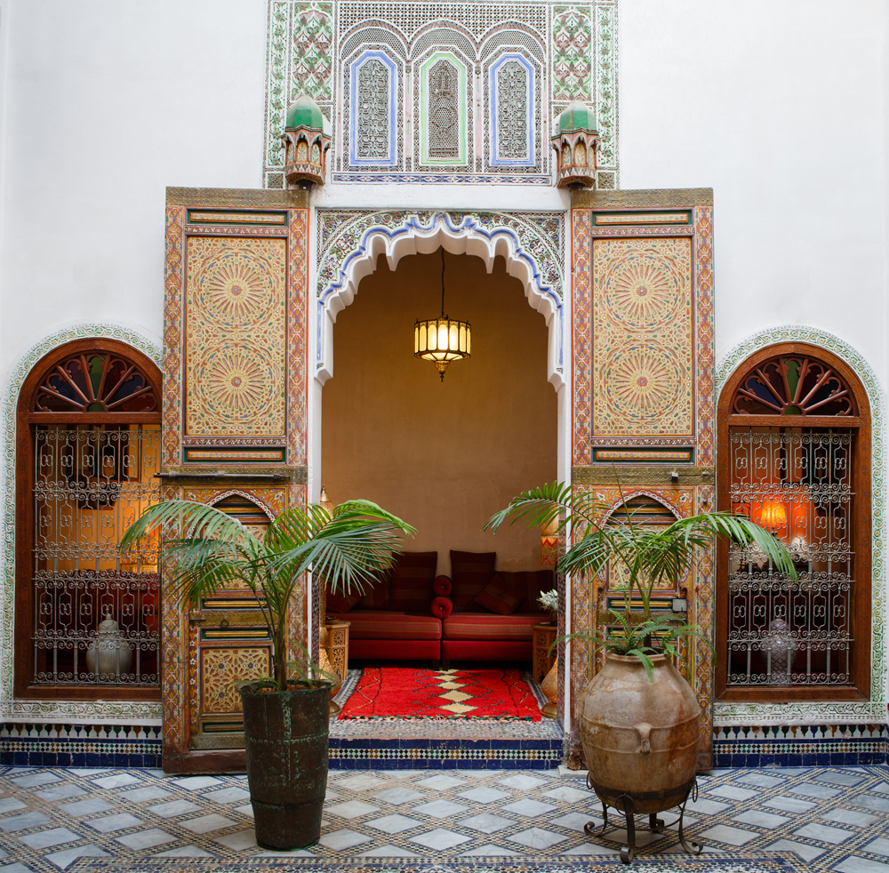 Ruined Garden, Riad Idrissy, Fez, Morocco. Photo © James Sturcke Fotografía | www.sturcke.org | Most Romantic Bars In Fes