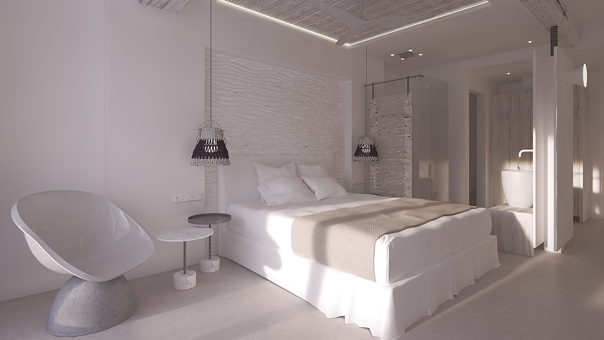 New opening kensh boutique hotel suites mykonos for Boutique hotel nrw