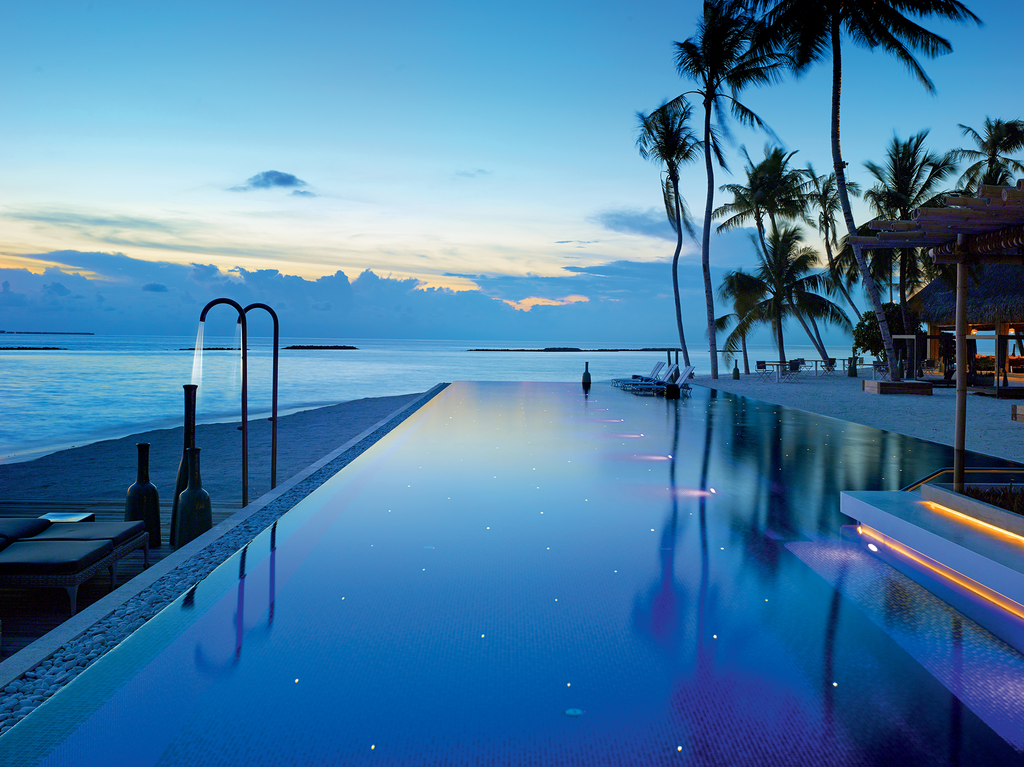 The World's Best Swimming Pools |Part II | Velaa Private Island, Maldives
