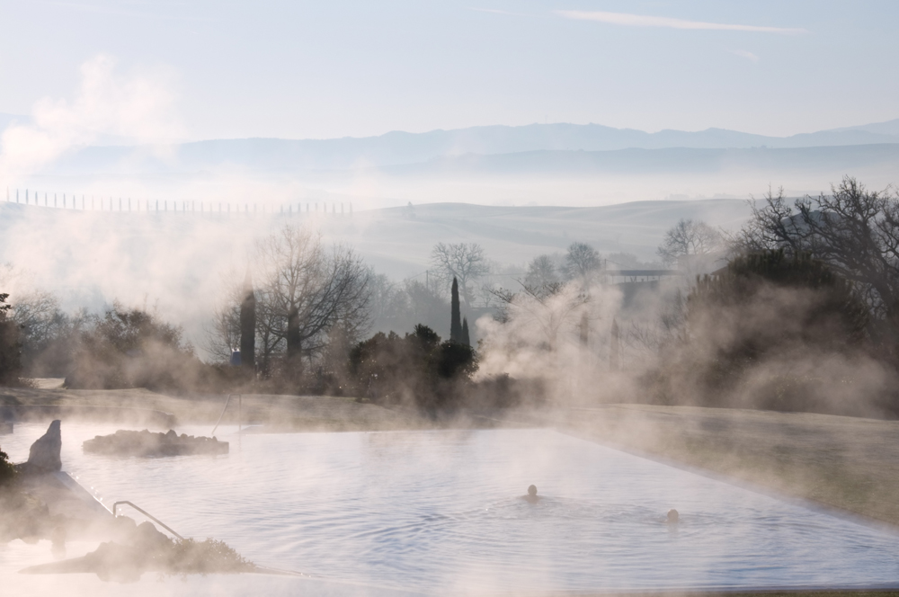 Europe's Top 10 Best Hot Springs | Adler Thermae- Val d'Orcia, Tuscany, Italy