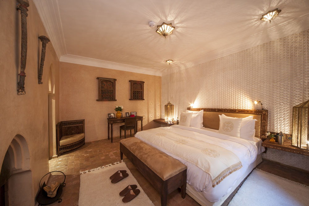 Junior Suite with Privatised Terrasse Area 7 - bedrooom at Almaha Marrakech