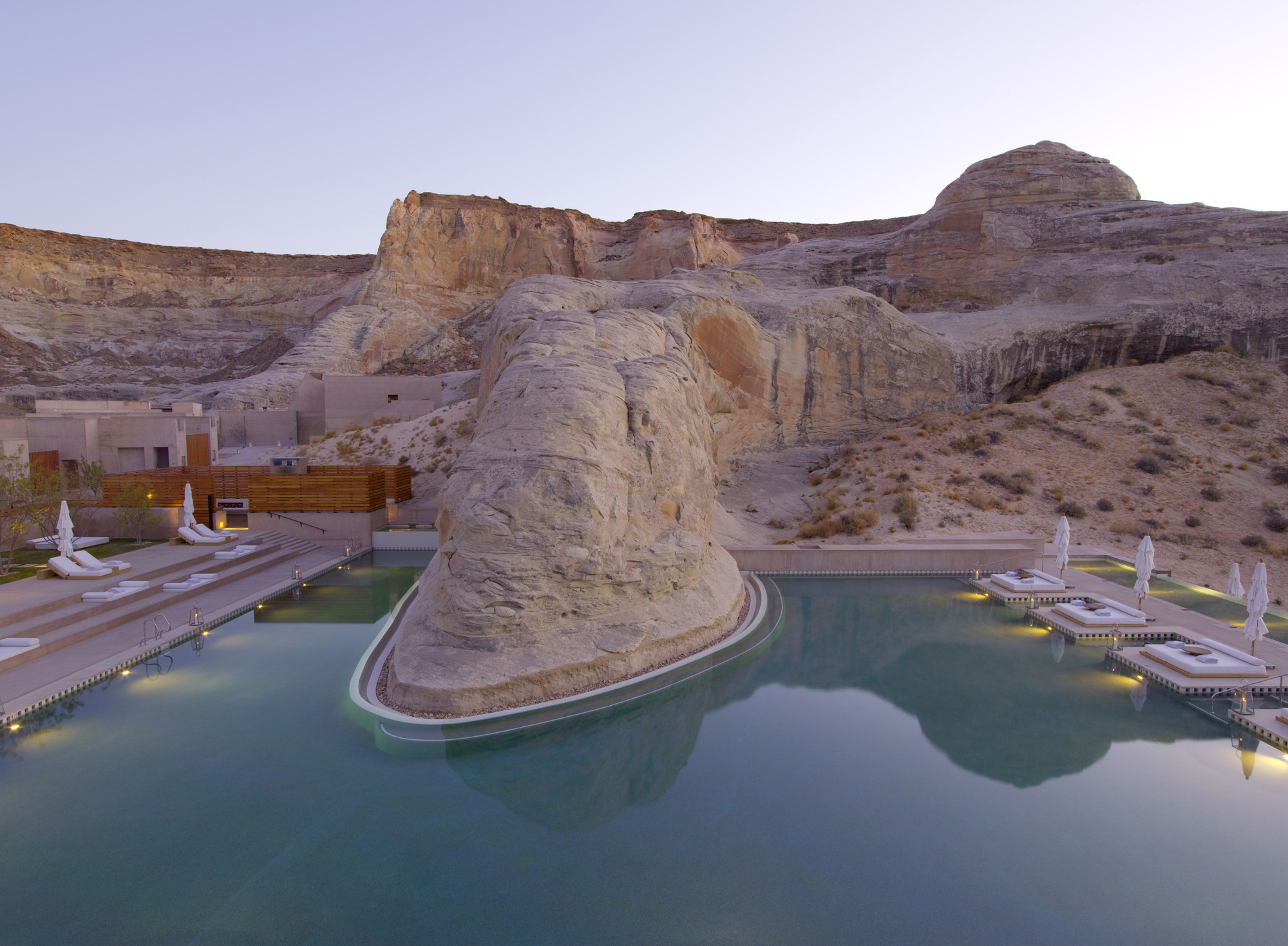 The World's Best Swimming Pools |Part I | Amangiri, Utah, USA