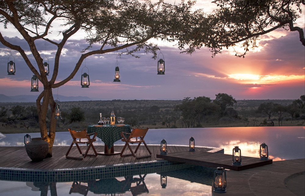 The World's Best Swimming Pools |Part I |Four Seasons Safari Lodge Serengeti, Africa