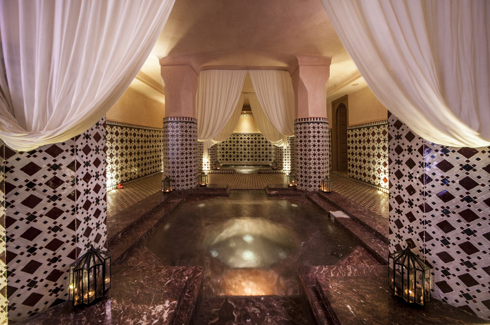 Spa - Dipping Pool at Almaha Marrakech