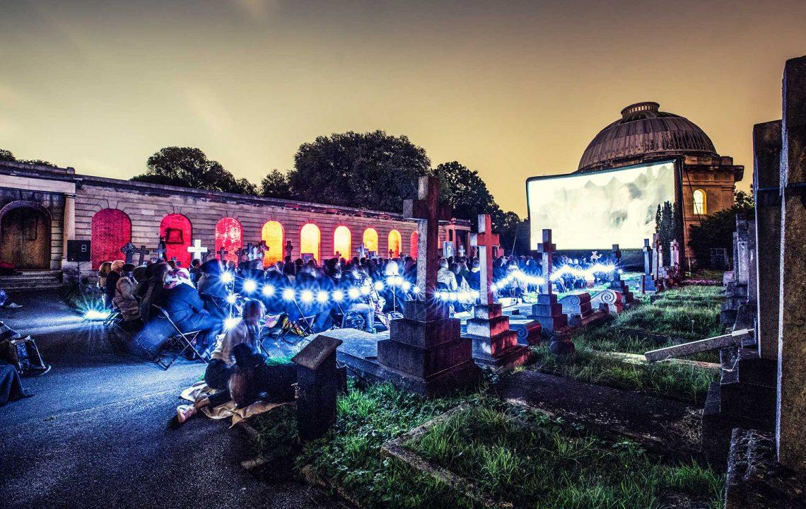 The Nomad Cinema - Brompton Cemetery | Credit: SarahGinn