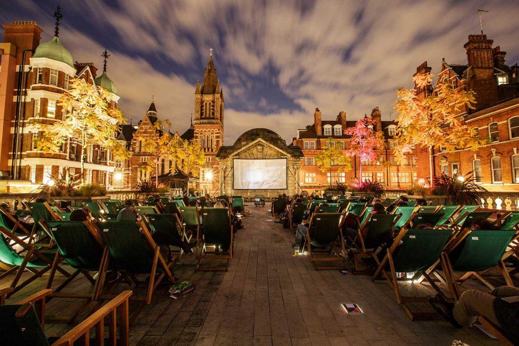 The Nomad Cinema - Brown Hart Gardens | Credit: SarahGinn