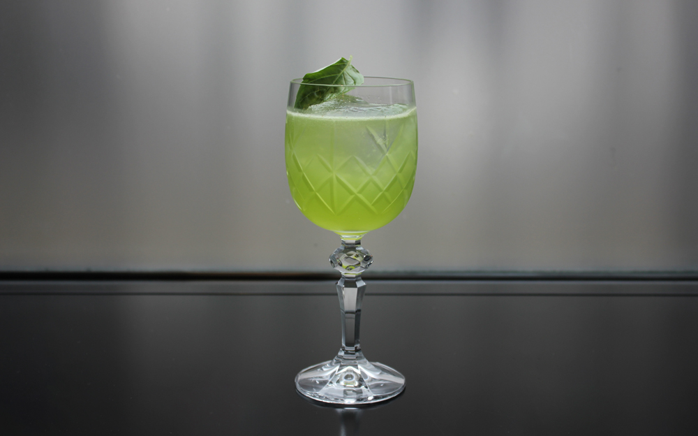 Celebrate World Gin Day | Gin-based floral cocktails at German Gym | Eau de Vetiver - Pollen Street Social