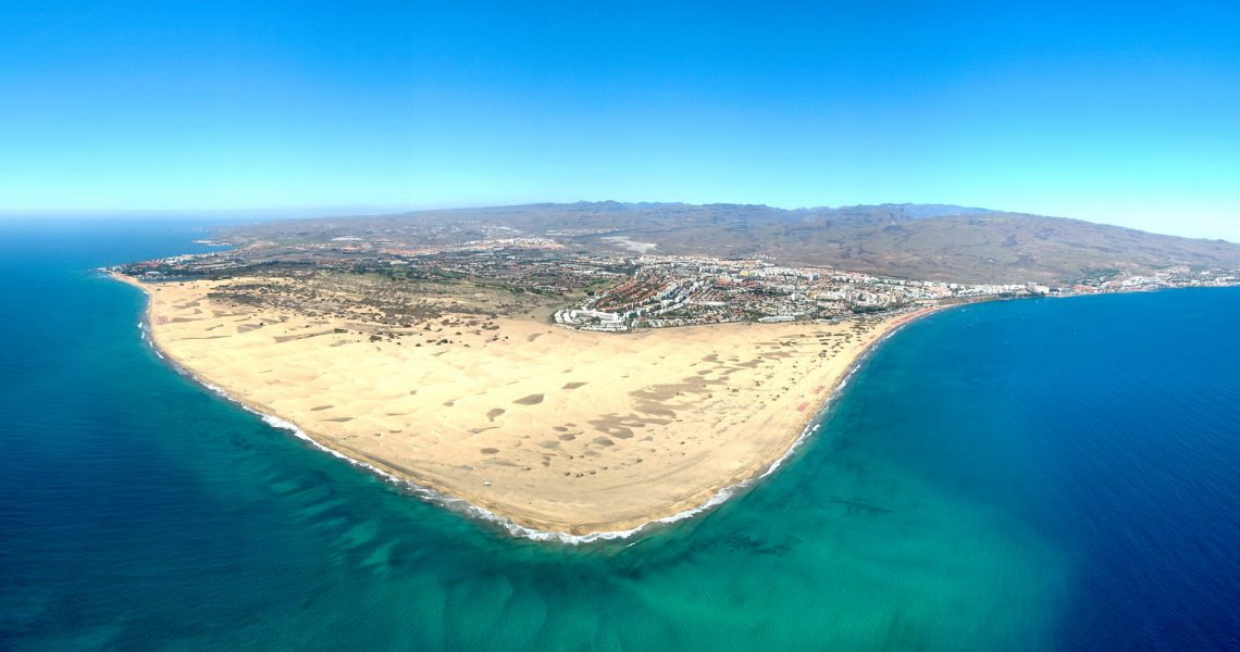 Where To Instagram Gran Canaria Hot Spots | Panorama Maspalomas Playa