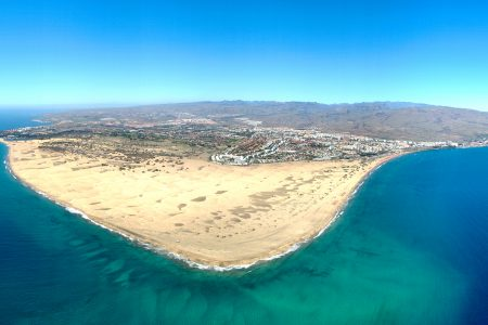 Where To Instagram Gran Canaria Hot Spots | Panorama Maspalomas Playa