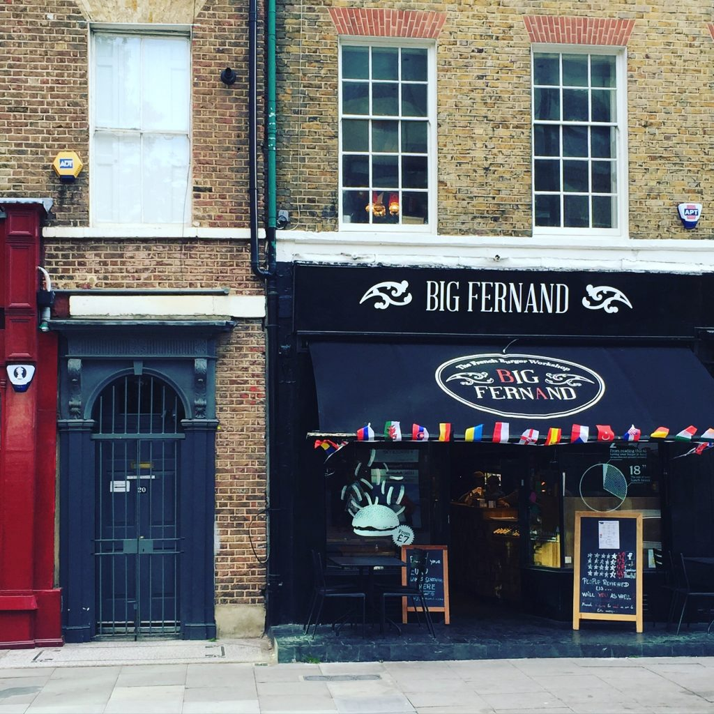 Big Fernand - London Burgers