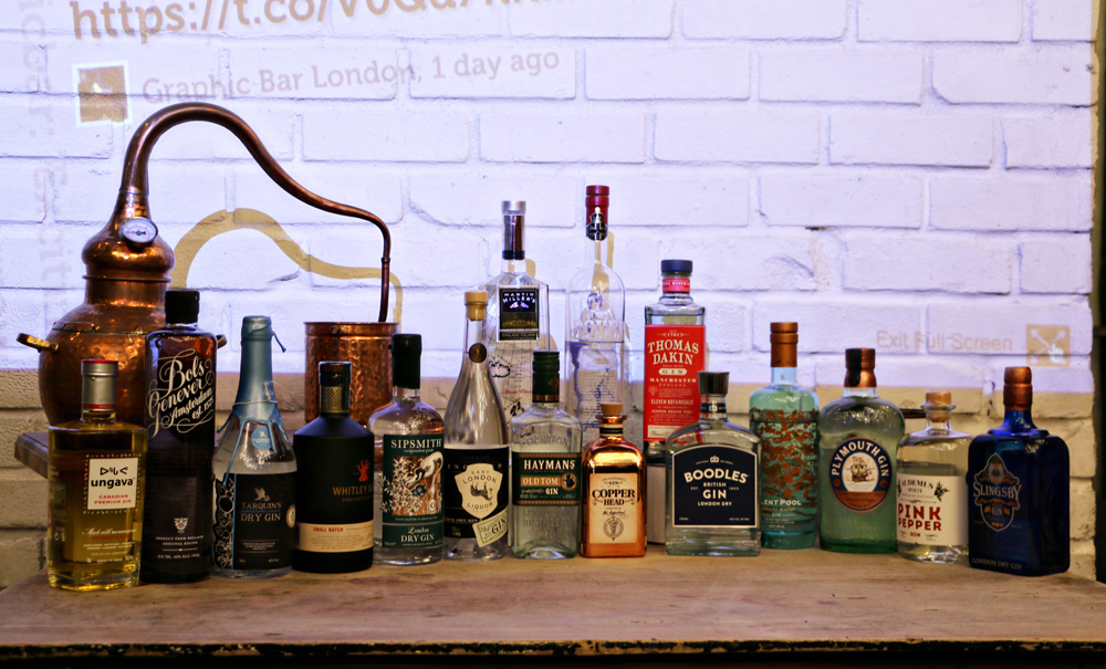 Celebrate World Gin Day | Graphic Bar- Gin Social