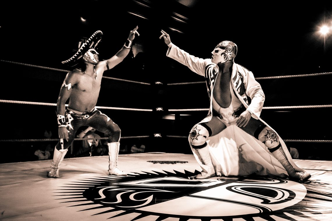 Lucha Libre World at York Hall‏ | Aztec Warrior Lucha Libre World