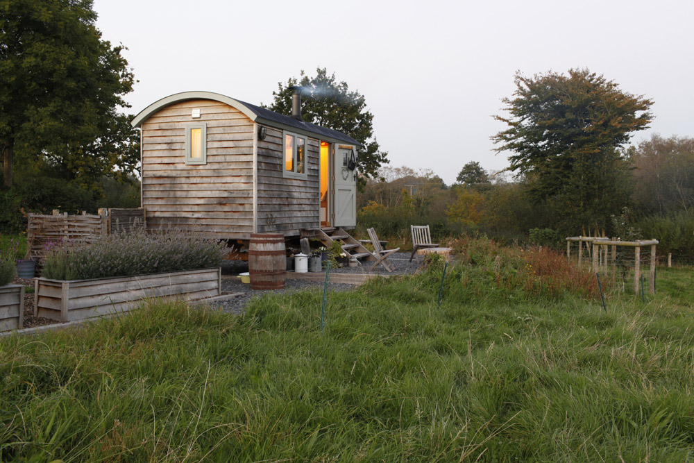Top 10 Glampsites For Two | Glamping à Deux- the UK's Most Romantic Spots from the Experts at www.coolcamping.co.uk | Dimpsey Glamping