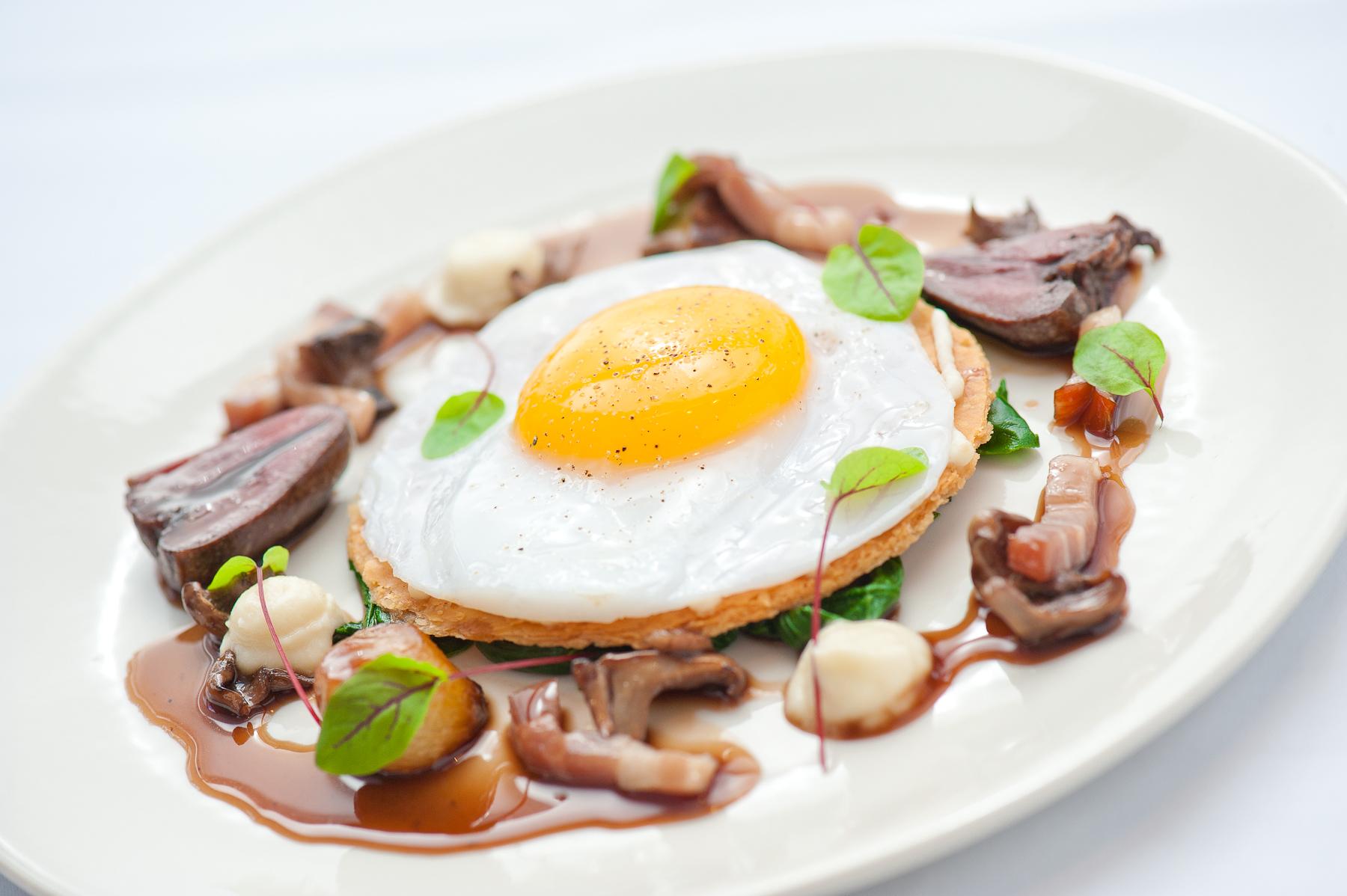 Duck Egg Tart | Medlar