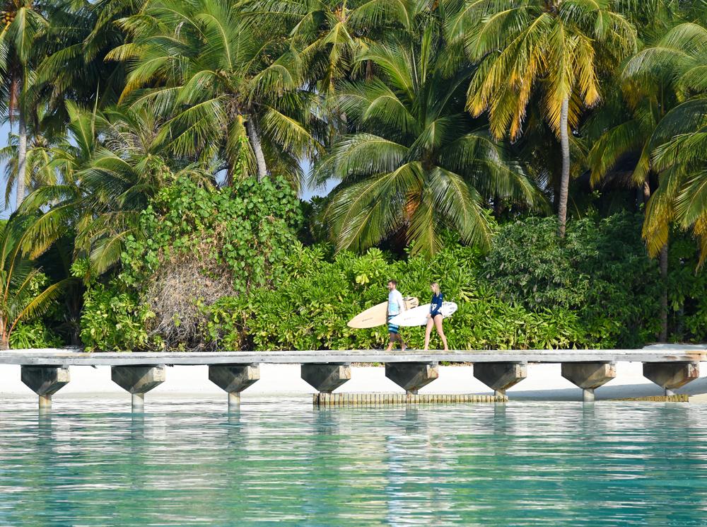 The World's Best Bohemian Surf Retreats | Part I | Gili Lankanfushi and Tropicsurf, The Maldives