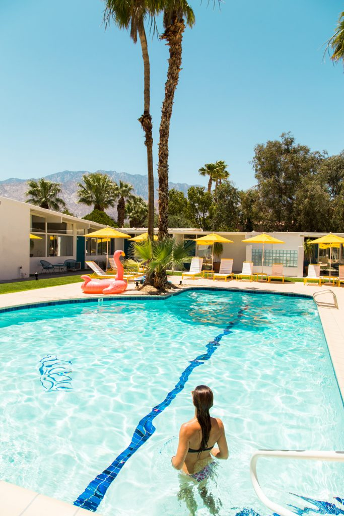 Palm Springs' Trendy Poolside Hangouts | Monkey Tree Hotel