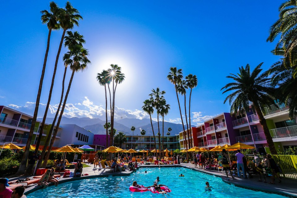 Palm Springs' Trendy Poolside Hangouts | The Saguaro