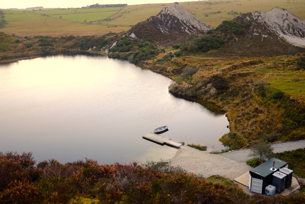Top 10 Glampsites For Two | Glamping à Deux- the UK's Most Romantic Spots from the Experts at www.coolcamping.co.uk | The Lake, Cornwall