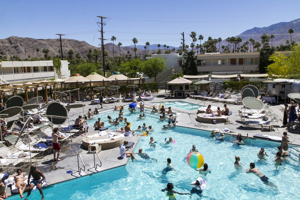Palm Springs' Trendy Poolside Hangouts | Ace Hotel & Swim Club