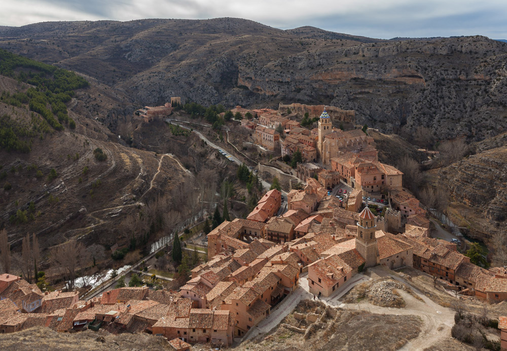14 Picture Perfect European Towns | Albarracin Teruel Espania | Diego Delso. Source - wikipedia | https://en.wikipedia.org/wiki/Albarracín#/media/File:Albarracín,_Teruel,_España,_2014-01-10,_DD_120.JPG |