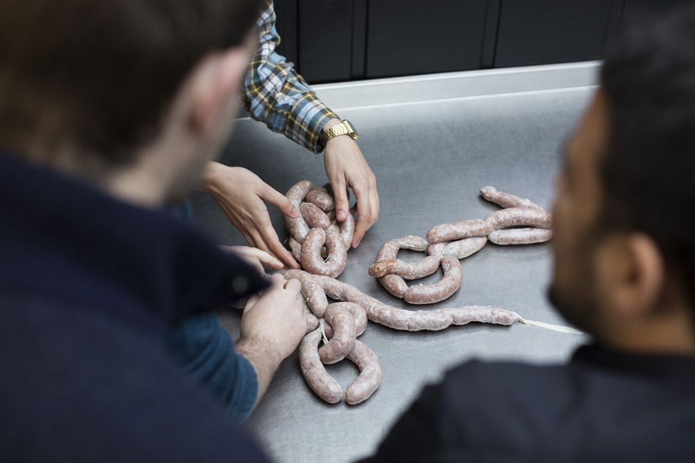 Date Idea: Sausage Making At Cannon & Cannon Meat School