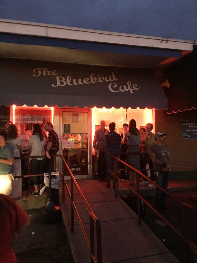 Great American Road Trip Bluebird Cafe