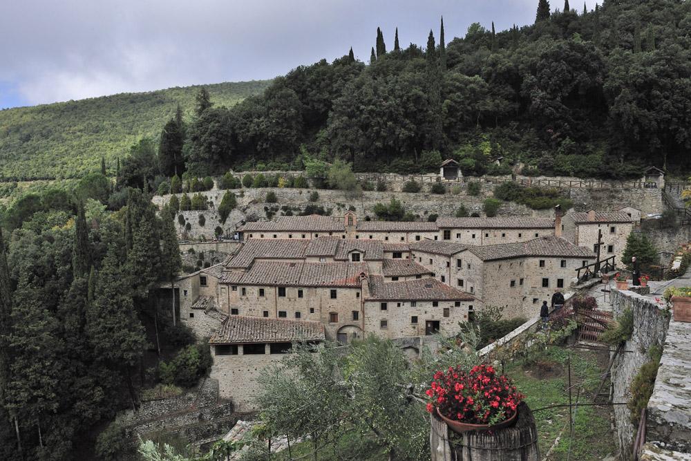 14 Picture Perfect European Towns | Cortona & Il Borro – Italy | Arezzo - Convento Francescano ,Cortona
