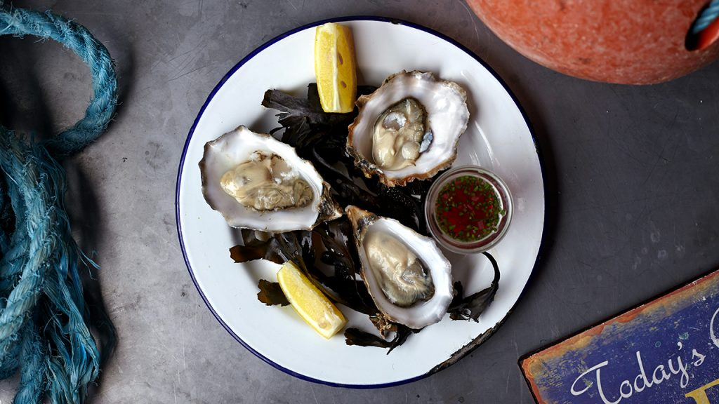Eat At: Mussel Men | Cumbrae Oysters