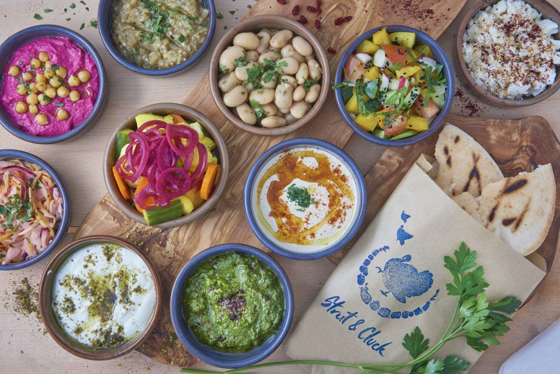 Seven Spots For International Brunches In London | Israeli: Eastern Mediterranean Brunch at Strut & Cluck