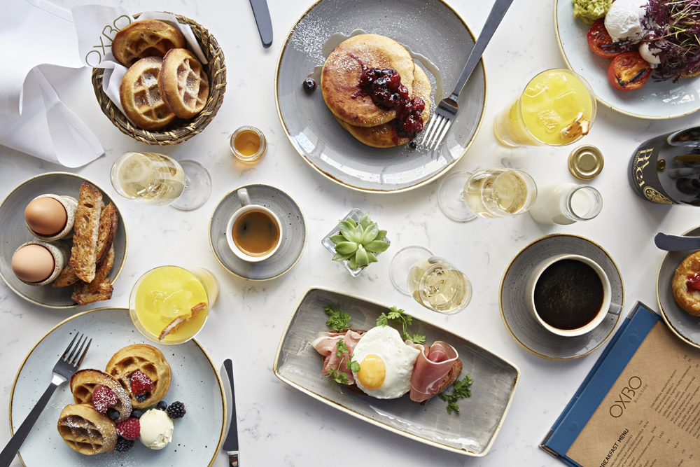 Seven Spots For International Brunches In London | British OXBO Bankside Brunch